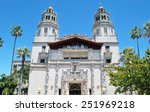 The Dual Tower Of Hearst Castle
