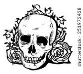 a vector illustration of dark... | Shutterstock .eps vector #251972428