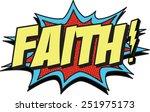 faith | Shutterstock .eps vector #251975173