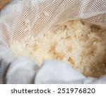 thai asian sticky rice in a... | Shutterstock . vector #251976820