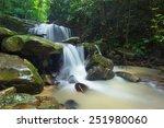 Waterfall In Borneo Jungle...