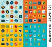 football  soccer infographic | Shutterstock . vector #251984524