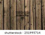 vector wood texture. background ...   Shutterstock .eps vector #251995714