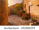 Small Alley In The Tuscan...