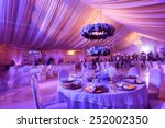 wedding flowers decoration in... | Shutterstock . vector #252002350