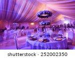 wedding flowers decoration in... | Shutterstock . vector #252002350