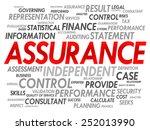 assurance word cloud  business... | Shutterstock .eps vector #252013990