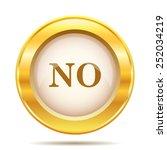 no icon. internet button on... | Shutterstock .eps vector #252034219