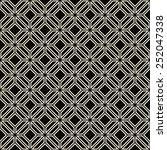 seamless geometric outline... | Shutterstock .eps vector #252047338