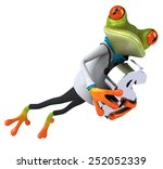 fun frog | Shutterstock . vector #252052339