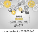 page under construction concept ... | Shutterstock .eps vector #252065266