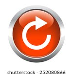 reload arrow button for web.... | Shutterstock .eps vector #252080866