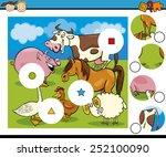 cartoon vector illustration of... | Shutterstock .eps vector #252100090