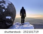 silhouette of photographer... | Shutterstock . vector #252101719