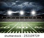 american football satdium | Shutterstock . vector #252109729
