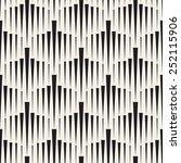 vector seamless pattern. modern ... | Shutterstock .eps vector #252115906