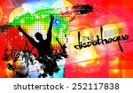 night party background. vector | Shutterstock .eps vector #252117838