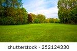 green field. beautiful... | Shutterstock . vector #252124330