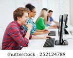education concept   student... | Shutterstock . vector #252124789