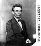 Small photo of Abraham Lincoln 1860.