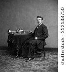 Thomas Edison  Ca. 1870's