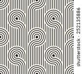 vector seamless pattern. modern ... | Shutterstock .eps vector #252135886