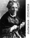 Harriet Beecher Stowe (1811-1896), author of