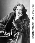 oscar wilde  1864 1900  ... | Shutterstock . vector #252142243