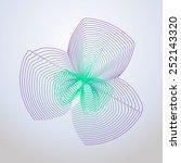 beautiful pattern  logo ... | Shutterstock .eps vector #252143320