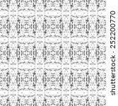 fantasy abstract seamless...   Shutterstock .eps vector #252200770
