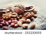 Almonds  Walnuts And Hazelnuts...