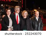 Small photo of BERLIN, GERMANY - FEBRUARY 12? 2015: Actors Ruediger Vogler, Lisa Kreuzer, director Wim Wenders and actress Yella Rottlaender attend 'The American Friend' screening during the 65th Berlinale