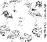 background with birds.vector... | Shutterstock .eps vector #252256000