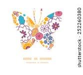 vector colorful oriental... | Shutterstock .eps vector #252260380