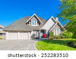 very neat and tidy home with... | Shutterstock . vector #252283510