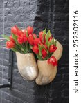 Traditional Clogs And Tulips...