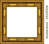 a picture frame on a white | Shutterstock . vector #25235326