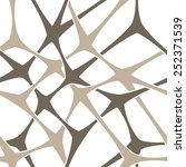 modern stylish pattern of mesh. ... | Shutterstock .eps vector #252371539