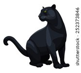 panther | Shutterstock .eps vector #252373846