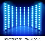 performance on the stage.... | Shutterstock .eps vector #252382234