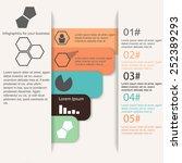information strips infographics ... | Shutterstock .eps vector #252389293