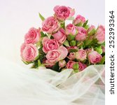 bouquet of roses | Shutterstock . vector #252393364