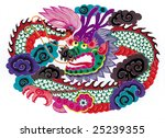 chinese paper cut | Shutterstock . vector #25239355