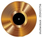 gold vinyl vector illustration.   Shutterstock .eps vector #252415756