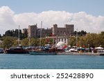 Castle Of The Knights In Rhodes
