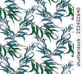 vector seamless pattern with... | Shutterstock .eps vector #252432640