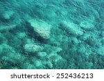 see through sea water | Shutterstock . vector #252436213