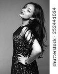 beautiful young woman | Shutterstock . vector #252441034