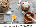 different types and forms of... | Shutterstock . vector #252443719