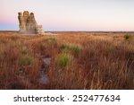 castle rock in kansas is a... | Shutterstock . vector #252477634